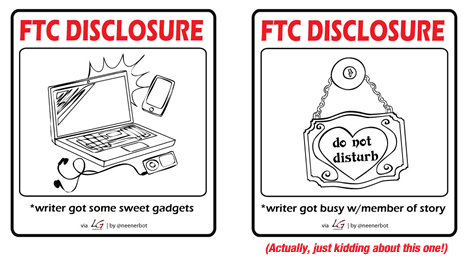 FTC Disclosure: writer got gadgets and busy