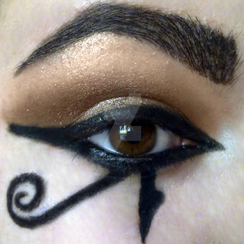KatelynRose Eye-of-Ra Makeup at DeviantArt