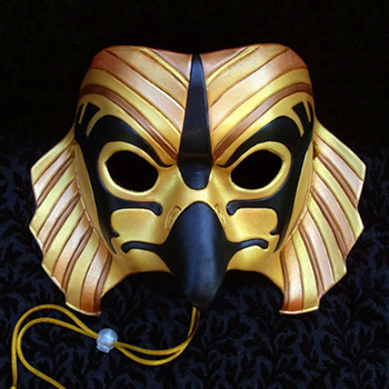 Merimask Gold Horus Mask on Etsy